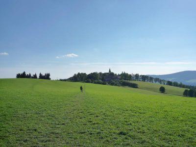 Krajina kolem Králík je nádherná.