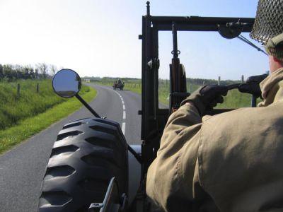 Přesun od UTAHu směrem k dělostřelecké baterii Crisbecq.