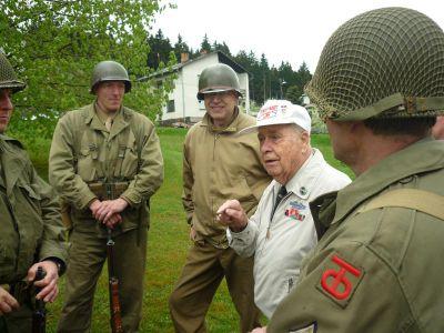 V rozhovoru s Vernonem Schmidtem, veteránem 359. pluku, 90. pěší divize. Thank you, Vern!