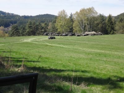 Nový camp nedaleko Vidžína.