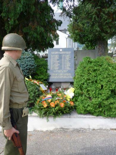 Slavičínský hřbitov.