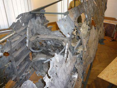 """""""Skládačka"""" Fw 190 v muzeu v Suchdole nad Odrou. Obdivuhodný výkon!"""